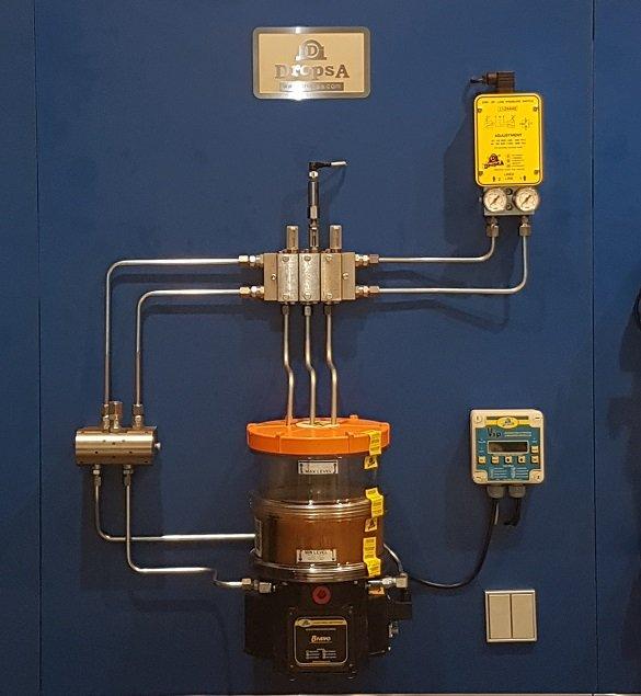 W superbly Układy dwuliniowe do smarowania maszyn – centralne smarowanie IO92